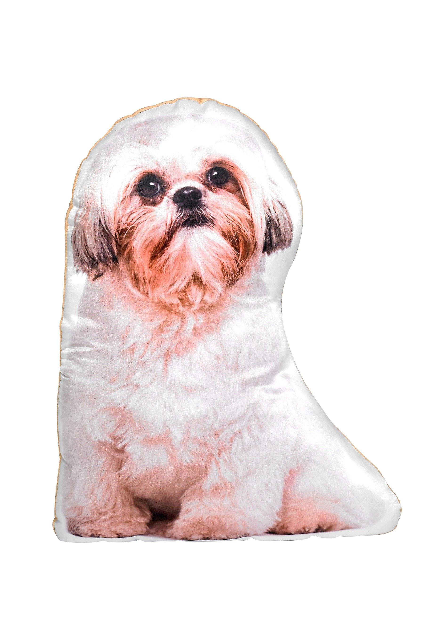 Adorable shih tzu shaped cushion