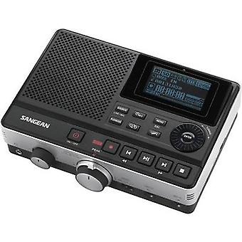 Sangean DAR-101 Audio recorder Black