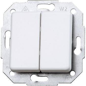 Kopp insertar serie interruptor blanco Ártico de Europa, Matt 613513065