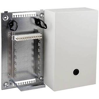 EFB Elektronik 46018.1V10 Steel Distribution Box VKA 4 Housing with mounting angle for 2x7 strips 2/10 140 double wires Content: 1 pc(s)