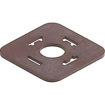 Hirschmann 731739004 GDM 3-21 EPDM GDM 3-21 Flat Seal aantal pins:-
