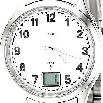 JOBO ladies wrist watch stainless steel mineral glass clock