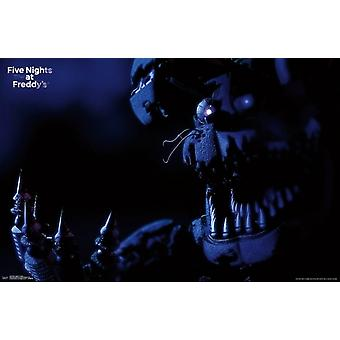Friday Night at Freddys - Nightmare Bonnie Poster Print