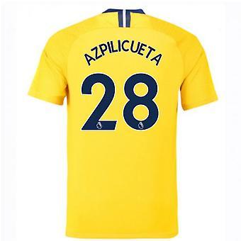 2018-2019 Chelsea päässä Nike jalkapallopaita (Azpilicueta 28) - lapset