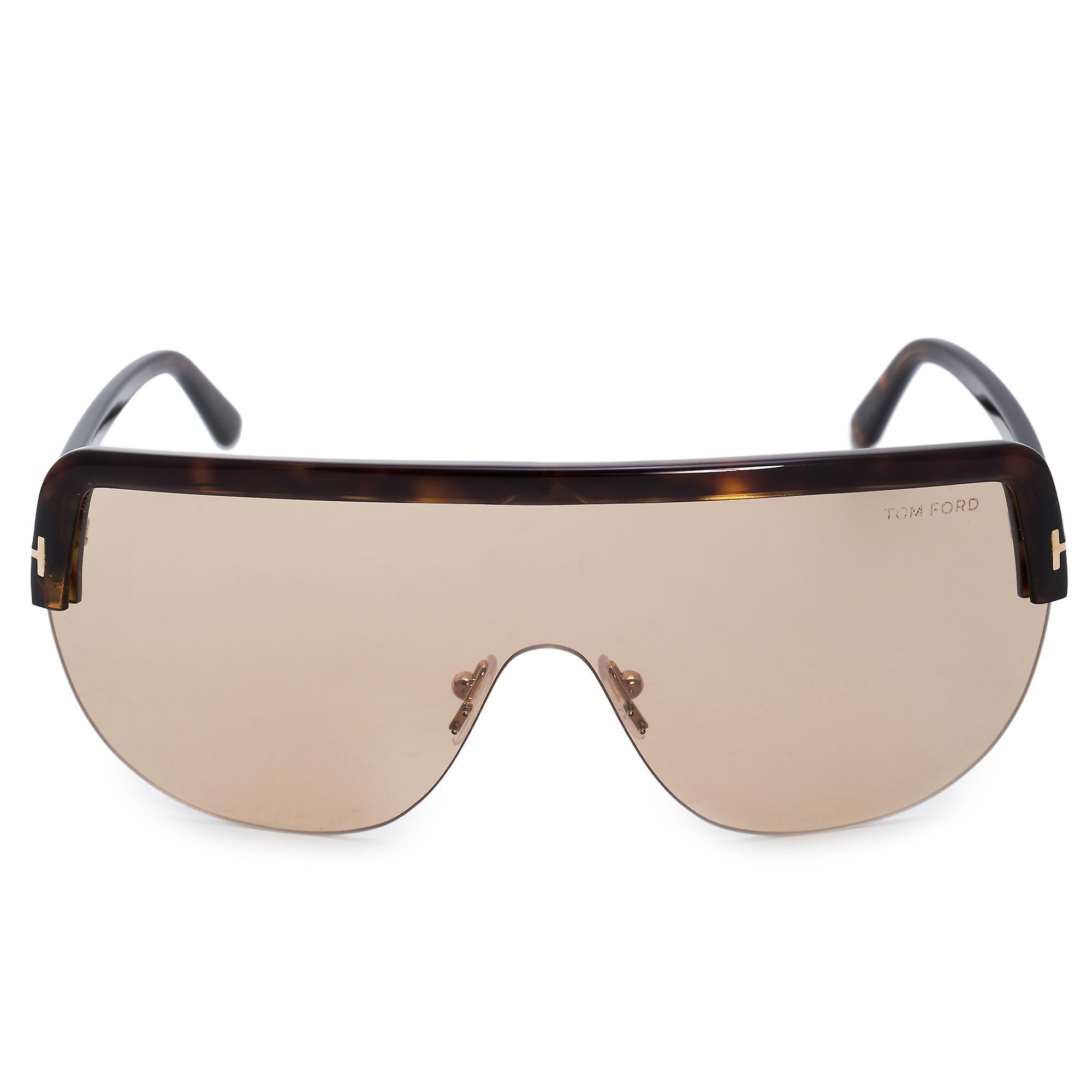 Tom Ford Angus-02 Semi-Rimless Sunglasses FT0560 52E 00