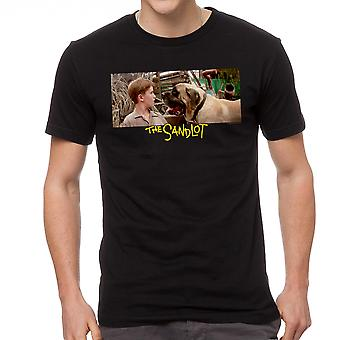 The Sandlot Dog Beast Graphic Men's Black T-shirt