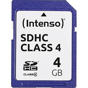 Intenso SDHC Blue card 4 GB Class 4