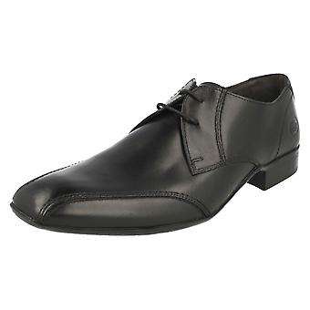 Mens Base London Formal Lace Up Shoes Indent