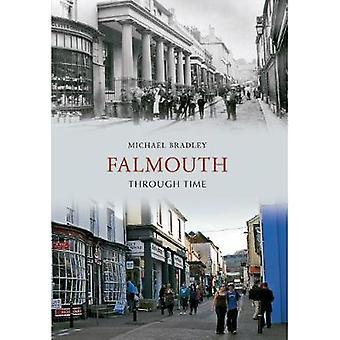 Falmouth a través del tiempo por Michael Bradley - libro 9781848684690