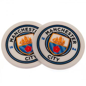 Manchester City FC Coaster Set (2 Stück)