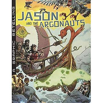 Jason och argonauterna: en grafisk återberättelse (antika myter)