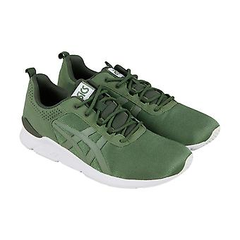Asics Gel Lyte Runner  Mens Green Casual Low Top Sneakers Shoes