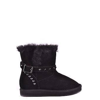 Liu Jo Ezbc086025 Women's Black Suede Ankle Boots