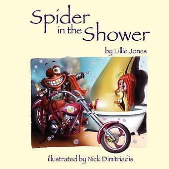 Spider in the Shower by Lillie Jones