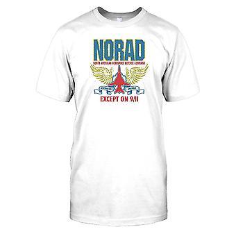 NORAD - North American Aerospace Forsvarskommandoen undtagen på 9/11 børn T Shirt