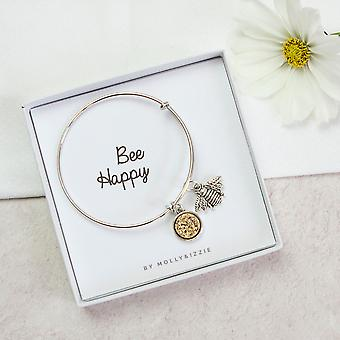 Bee onnellinen Bangle