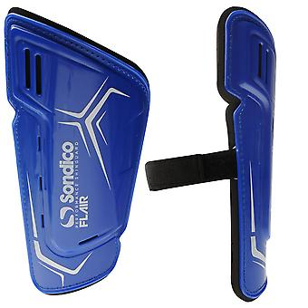 Sondico Unisex Flair Slip Shinguards Anatomical Design Strap Fastening