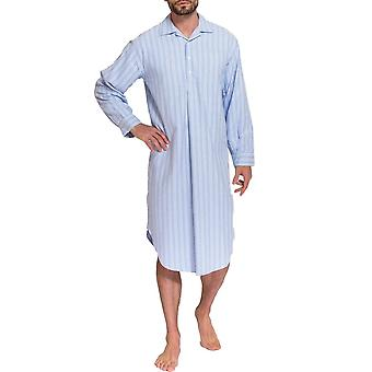 British Boxers Westwood Blue Stripe Men's Nightshirt