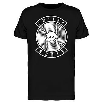 SmileyWorld Evil Smile Face Men's T-shirt