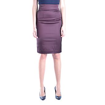 Juste Cavalli Ezbc141024 Jupe en coton violet