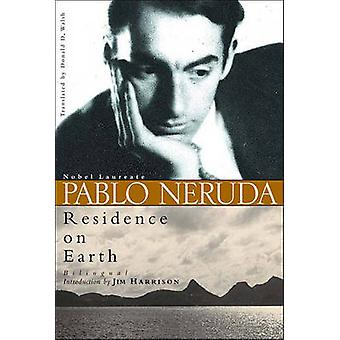 Residence on Earth by Pablo Neruda - 9780811215817 Book