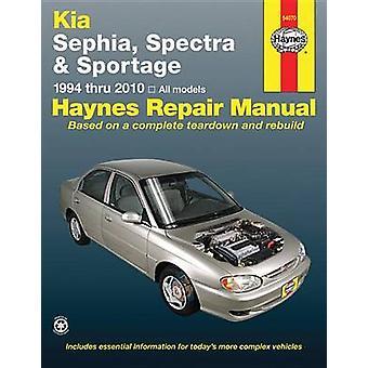 Kia Sephia Automotive Repair Manual - 94-10 by Joe L Hamilton - John H
