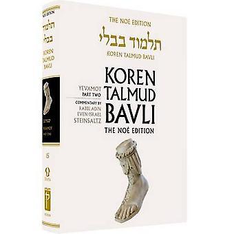 Koren Talmud Bavli - Yevamot Part 2 - English - -  v. 15 (Noy ed) by Ad