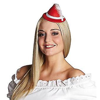 Mini cappello tirolese con fermaglio per capelli