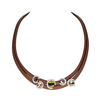 Belle Etoile Element Brown Necklace 05050910702-M