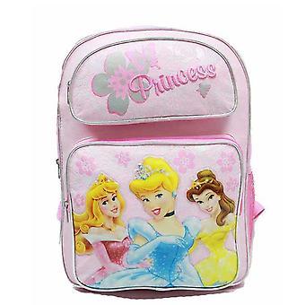 Backpack Disney Princess Pink 3 (Light Pink) (Large School Bag) 37696