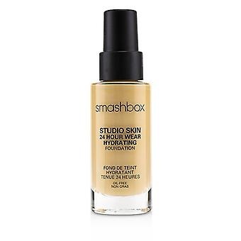 Smashbox Studio Skin 24 Hour Wear Hydrating Foundation - 2.1 (luz con tono cálido de Peachy) - 30ml/1oz