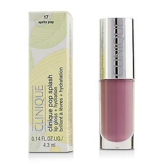 Clinique Pop Splash Lipgloss + Hydratation - # 17 Spritz Pop-4.3ml/0.14oz