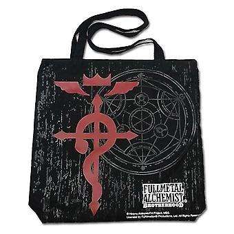 Tote Bag - FullMetal Alchemist - Cross of Flamel - Licensed - ge11802