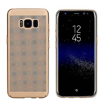 Samsung S8 Duos Plus Case Gold - Mesh Holes