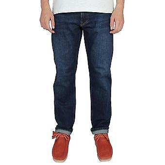 Gant men's dark blue worn in regular fit jeans