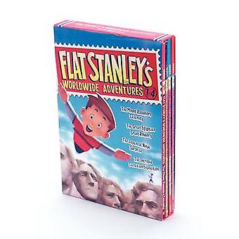 Flat Stanley's Worldwide Adventures #1-4 by Jeff Brown - Macky Pamint