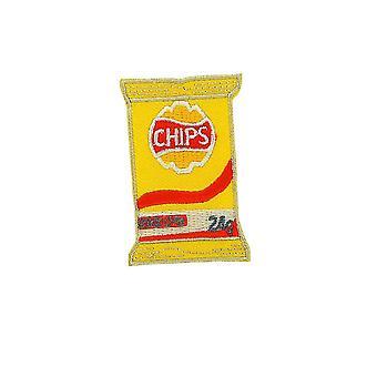 Aufnäher Ecusson Brode Applique Rucksack Couture Kawaii Chips Französisch Fries Fries