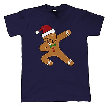 Dabbing Lebkuchen Mann, Herren T-Shirt - Weihnachtsgeschenk ihn Papa
