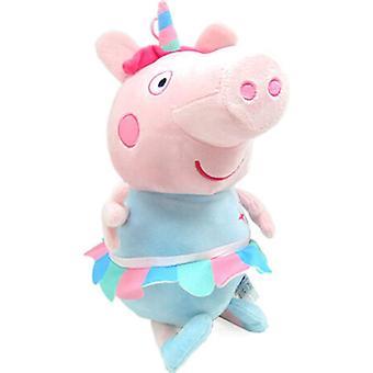 Plush - Peppa Pig - Unicorn Soft Doll 17.5