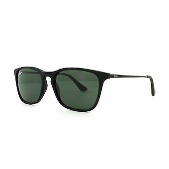 Ray-Ban RJ9061S 7005/71 Rubber Black/Green Sunglasses