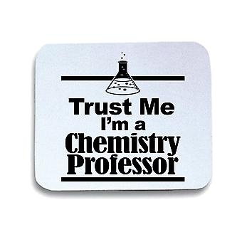 White pad mouse mat gen0462 trust me chemistry