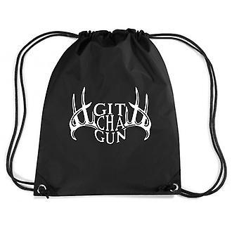 Black backpack fun1580 git cha gun with deer racks