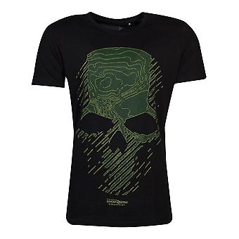 Tom Clancy's Ghost Recon Breakpoint Topo Skull T-Shirt Male Medium Black