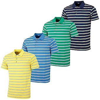 Bobby Jones Mens XH20 Edwards Stripe Golf Polo Shirt