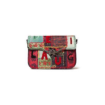 Desigual kvinder ' s patch 1970 Amorgos Satchel taske