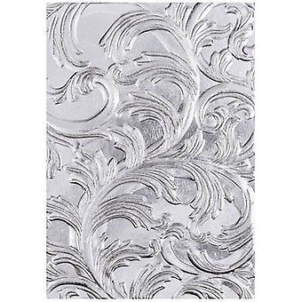 Sizzix 3D Textured Impressions Embossing Folder Elegant By Tim Holtz