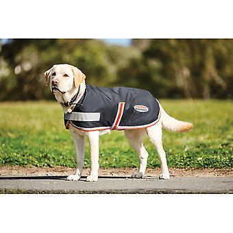 Weatherbeeta 1200d Therapy-tec Dog Coat - Black/silver/red