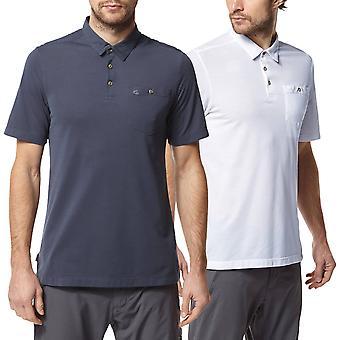 Craghoppers Mens NosiLife Gilles Short Sleeved Light Polo Shirt