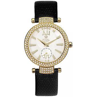 Royal London 20025-03 - watch leather black Dor e woman