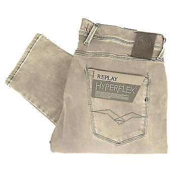 Replay Anbass hyperflexion Stretch Jeans Slim gris foncé